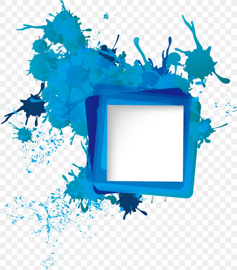 Icon Png 2320x2643px Picture Frames Abstract Art Aqua