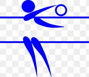 Volleyball - Summer Olympic Games Volleyball Pictogram Clip Art PNG
