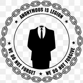 Anonymous - Anonymous Logo Cdr PNG