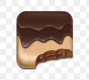 Chocolate Sandwich Cookies - Application Software Icon Design Android Icon PNG