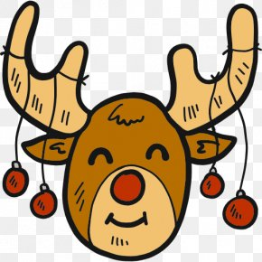 Reindeer - Reindeer Clip Art PNG