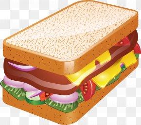 Sandwich Image - Hamburger Submarine Sandwich Clip Art PNG