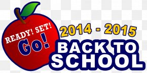 Back To School Graphic - Student First Day Of School School Supplies Clip Art PNG
