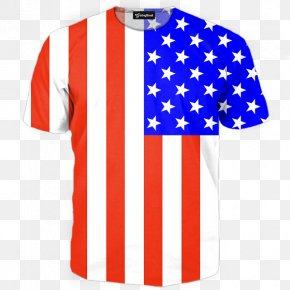 American Flag - T-shirt Tracksuit Hoodie United States PNG