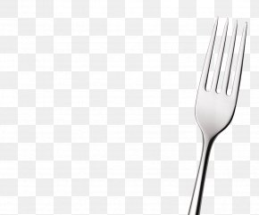 Fork Images - Fork Spoon Black And White Pattern PNG