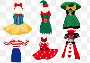 Cartoon Costume Design Vector Material Downloaded, - Costume Clothing Euclidean Vector PNG