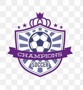 Vector Blue Soccer Logo - Football Logo PNG