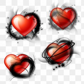 Tube - Heart Love Valentine's Day Clip Art PNG
