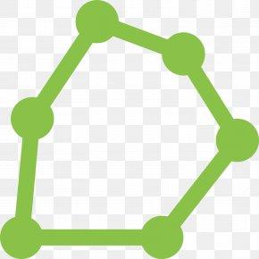 Color Low Polygon - Polygon Shape Line PNG