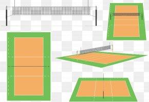 Volleyball Field - Beach Volleyball Volleyball Net Sport PNG