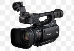 Camera - Canon XF100 Camcorder Professional Video Camera High-definition Television PNG