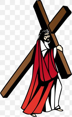 Cruz - Christ Eucharist Clip Art PNG
