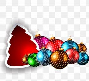 Christmas Tree Balls - Christmas Ornament Christmas Tree Ball PNG