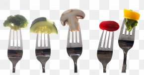 Knife And Fork On Food - Nutrient Healthy Diet Healthy Diet Eating PNG