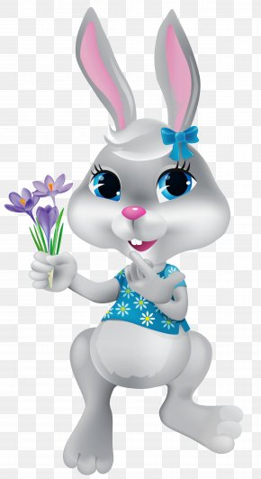Easter Bunny - Easter Bunny Clip Art PNG