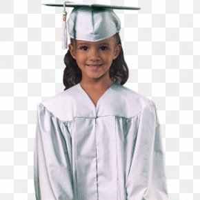 Graduation Gown - Robe Academic Dress Graduation Ceremony Gown Square Academic Cap PNG