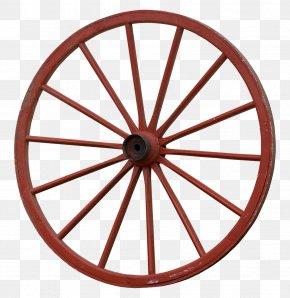 Wheel - Car Covered Wagon Wheel Spoke PNG