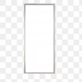 Product Material Rectangular Flat Lamp - Window Pattern PNG