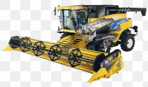 Tractor - Combine Harvester John Deere New Holland Agriculture Agricultural Machinery PNG