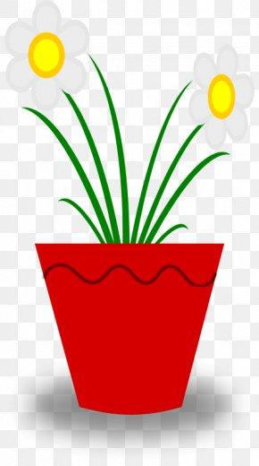 The Pot Cliparts - Flowerpot Plant Clip Art PNG