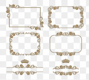 Vintage Frame Material - Picture Frame Ornament Stock Illustration Stock Photography PNG