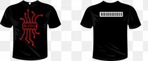 T-shirt - T-shirt Black Sun EC Sleeve Clothing PNG