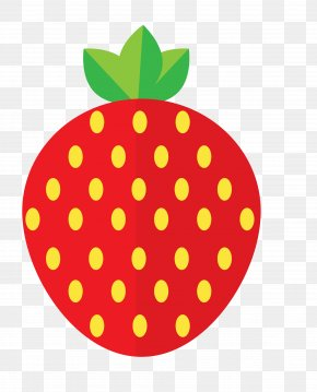 Red Strawberry - Strawberry Auglis Sticker PNG