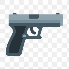Machine Gun - Firearm Gun Pistol Clip Art PNG