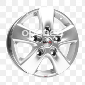 Mak - Alloy Wheel Rim Car Silver PNG
