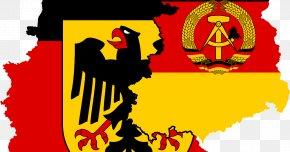 Map - West Germany Flag Of Germany West Berlin East Berlin PNG