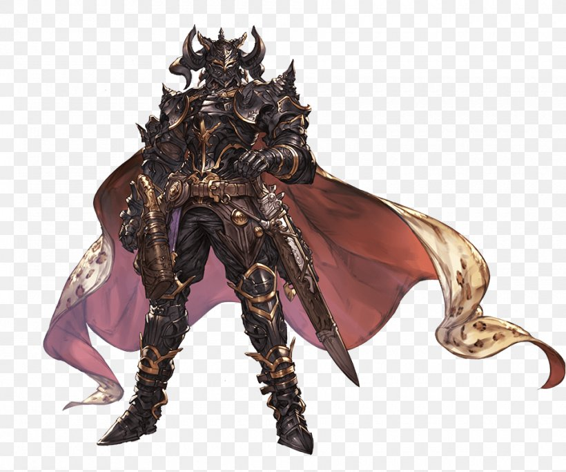 black fantasy characters granblue fantasy black knight character, png, xpx