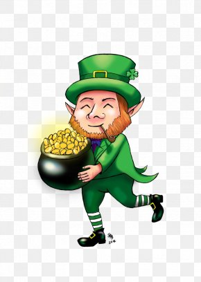 St Patrick's Day - Ireland Leprechaun 2 Saint Patrick's Day Irish People PNG