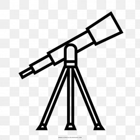 Binoculars - Refracting Telescope Drawing Clip Art PNG