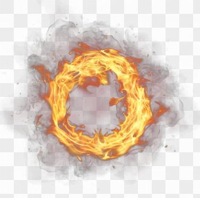 Ring Of Fire Free Buckle Decorative Material - Ring Of Fire Flame PNG