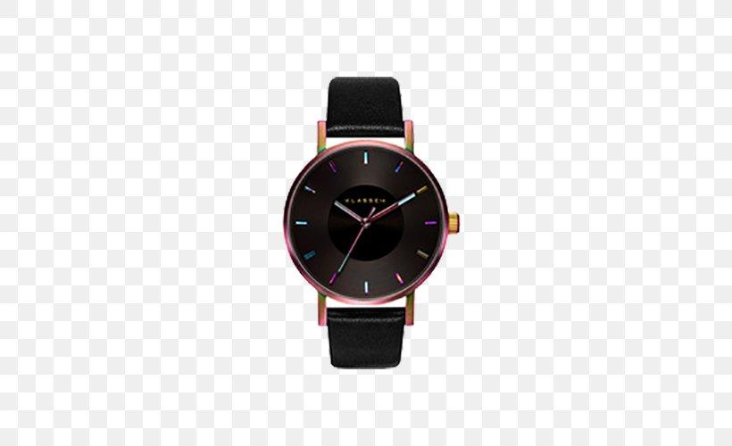 Watch Clock Mail Order Shop Bracelet, PNG, 500x500px, Watch, Black, Bracelet, Brand, Clock Download Free