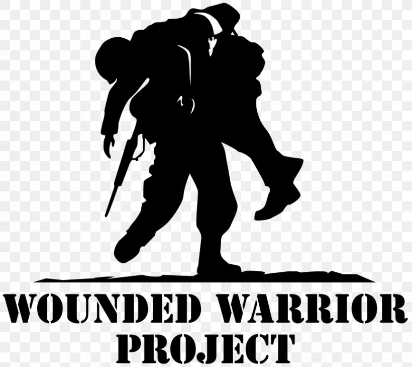 Wounded Warrior Project United States Organization Donation Logo, PNG, 863x768px, Wounded Warrior Project, Autocad Dxf, Black, Black And White, Brand Download Free