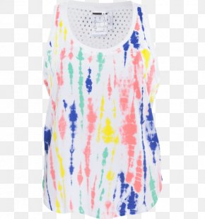 T-shirt - T-shirt Sleeveless Shirt Clothing Adidas Tie-dye PNG