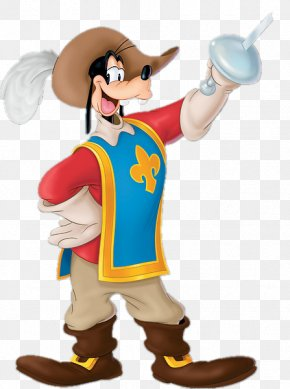 Mickey Mouse - Mickey Mouse Goofy The Three Musketeers Donald Duck Minnie Mouse PNG