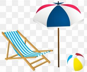 Beach Summer Set Clip-Art Image - Beach Clip Art PNG