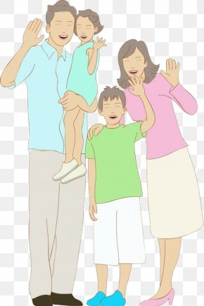 The Family Waved Goodbye - Gratis Download Icon PNG