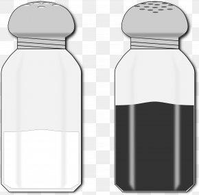 Salty - Clip Art Water Bottles Openclipart Black Pepper PNG
