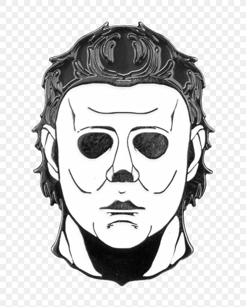 Michael Myers Drawing Don Post Mask Art, PNG, 766x1024px, Michael Myers, Art, Art Museum, Black And White, Don Post Download Free
