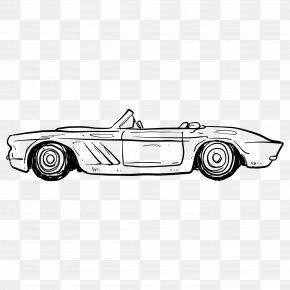 Automotive Artwork - Sports Car Vintage Car PNG