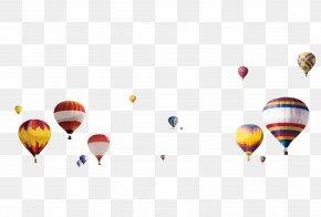 Floating Hot Air Balloon - Hot Air Balloon Clip Art PNG
