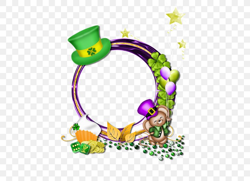 Saint Patrick's Day Picture Frames Clip Art, PNG, 595x595px, Saint Patrick S Day, Art, Baby Toys, Body Jewelry, Picture Frames Download Free