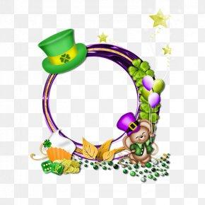 Saint Patrick's Day - Saint Patrick's Day Picture Frames Clip Art PNG