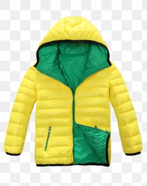 Yellow Jacket - Yellow Hoodie Download Icon PNG