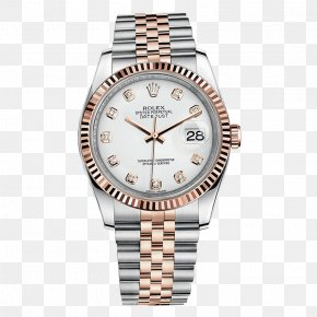 Silver Rolex Watch Men's Watches - Rolex Datejust Rolex Submariner Rolex GMT Master II Rolex Daytona PNG