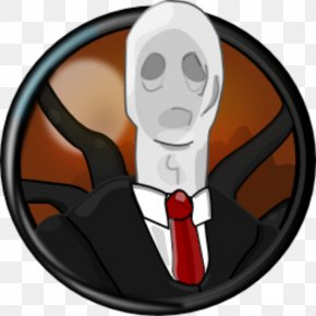 Slenderman - Character Finger Fiction Animated Cartoon PNG
