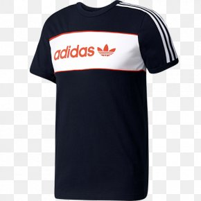 Adidas T Shirt - T-shirt Adidas Originals Clothing Sportswear PNG